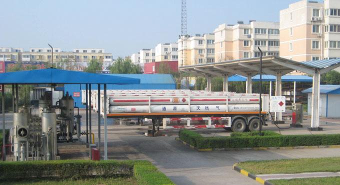 城市燃气-压缩天然气罐车